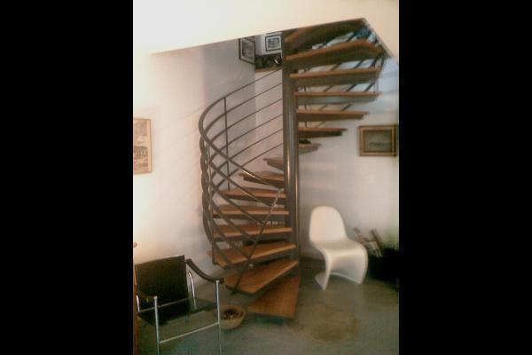 Escaliers marches bois